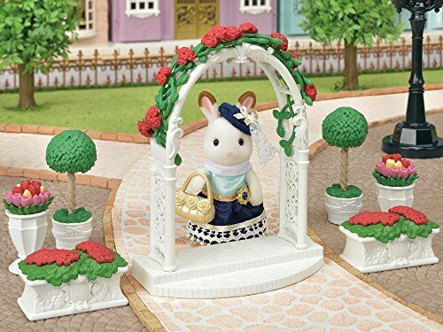 EPOCH Sylvanian Families Town Series Rose Arch /& Flower Pot TF-02 from Japan*
