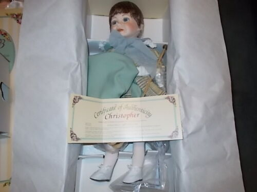 "22"" Morgan Brittany Christopher Bisque Porcelain 1994 Limited Ed Signed"