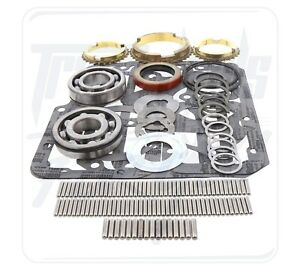 Details about Jeep T98 Transmission Rebuild Bearing Kit 4spd w/ Synchros