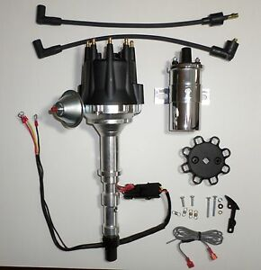 Details about CADILLAC 1968-74 472 & 500 PRO SERIES Small Cap HEI  Distributor + Chrome Coil