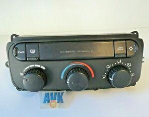 Klimabedienteil-Schalter-001AH-Chrysler-Voyager-IV-RG-RS