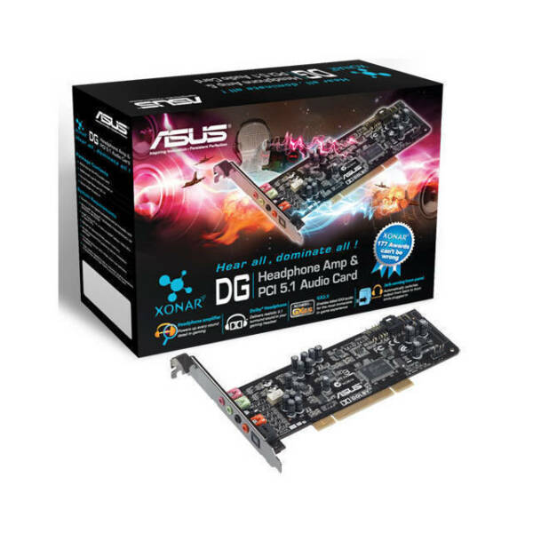 Asus Xonar_dg Xonar Dg 5.1 Channel Pci Sound Card