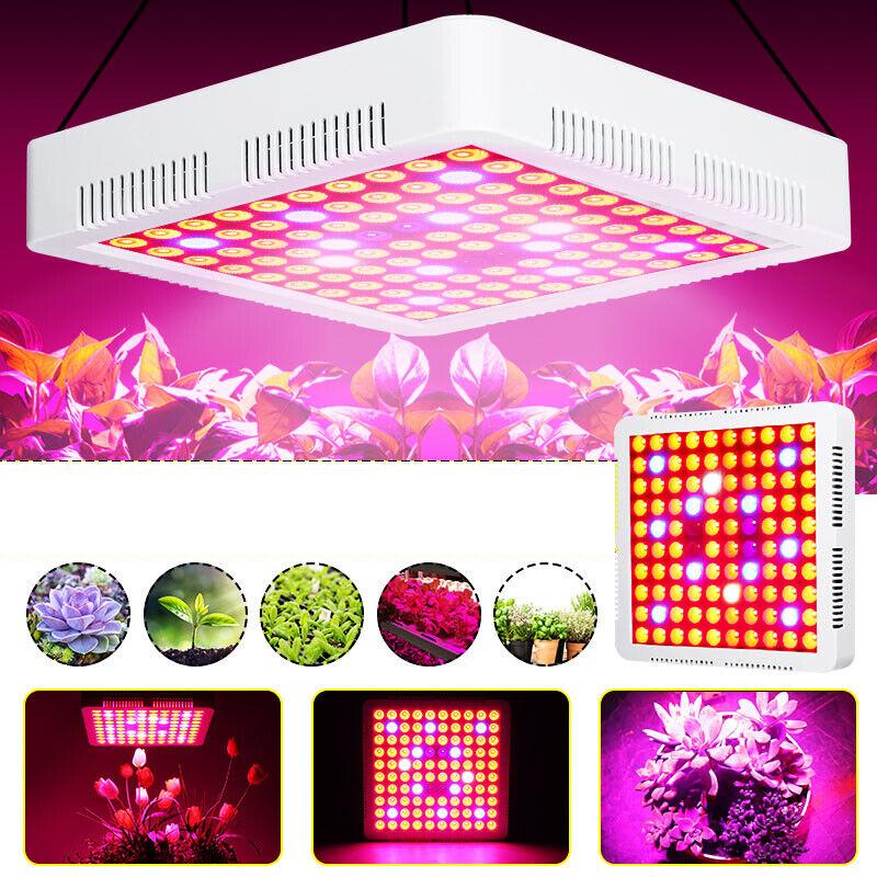 Image 01 - 85-265V-600W-Full-Spectrum-LED-Grow-Light-SMD3030-Growing-Lamp-IP55-Waterproof