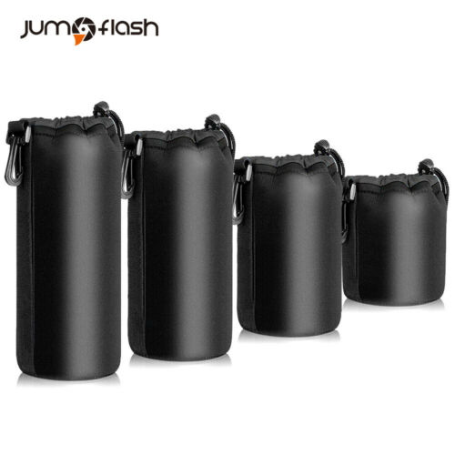 Jumpflash Camera case Lens Pouch Set Lens Case Small Medium Large and Extra