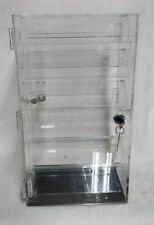 Revolving Locking 2 Sided Jewelryaccessory Display Case