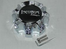 INCUBUS CHROME WX05C CAO-WX05-165.1-170-8H LG0805-11 WHEEL RIM CENTER CAP 8 LUG
