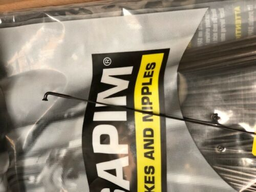 Sapim CX Ray Black Bladed Bicycle Spokes J-bend and Straight Pull all sizes