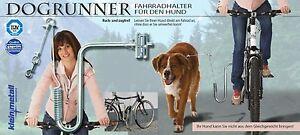 Support Vélo Pour Le Chien Dogrunner Kleinmetall Neuf - Avec Joie Roue Conduite