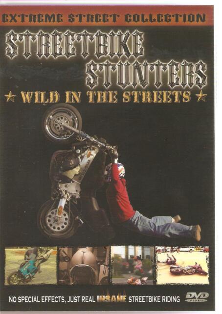 STREET BIKE STUNTERS WILD IN THE STREETS DVD