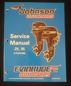 1998 johnson evinrude 25 35 hp 3 cylinder outboard factory. Black Bedroom Furniture Sets. Home Design Ideas