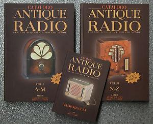 Libro-guida-pratica-CATALOGO-ANTIQUE-RADIO-d-039-epoca-a-valvole-vecchie-antiche-old