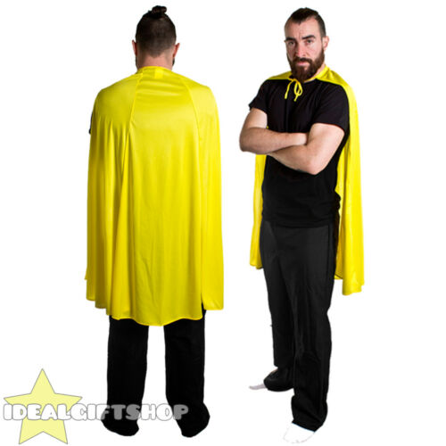 Adulti Supereroe Mantello Costume fumetti film EROE HALLOWEEN FESTA
