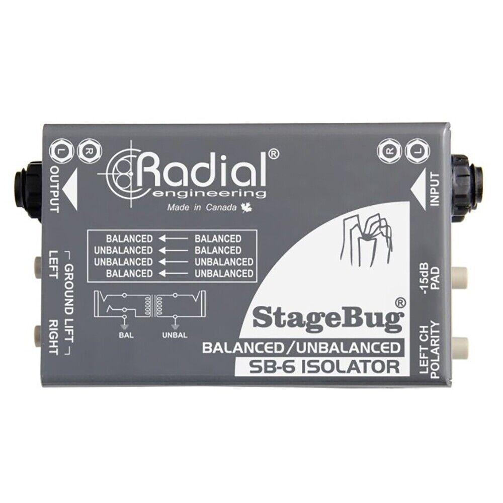 Radial Entwicklung Stagebug SB-6 Isolator