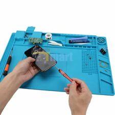 Magnetic Heat Silicone Pad Desk Mat Soldering Repair For Bga Size 45cm X 30cm