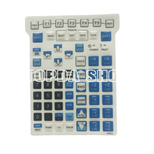 1PC FANUC AWE2 Membrane keypad Right lamp W Key Diaphragm of Instructor#SS
