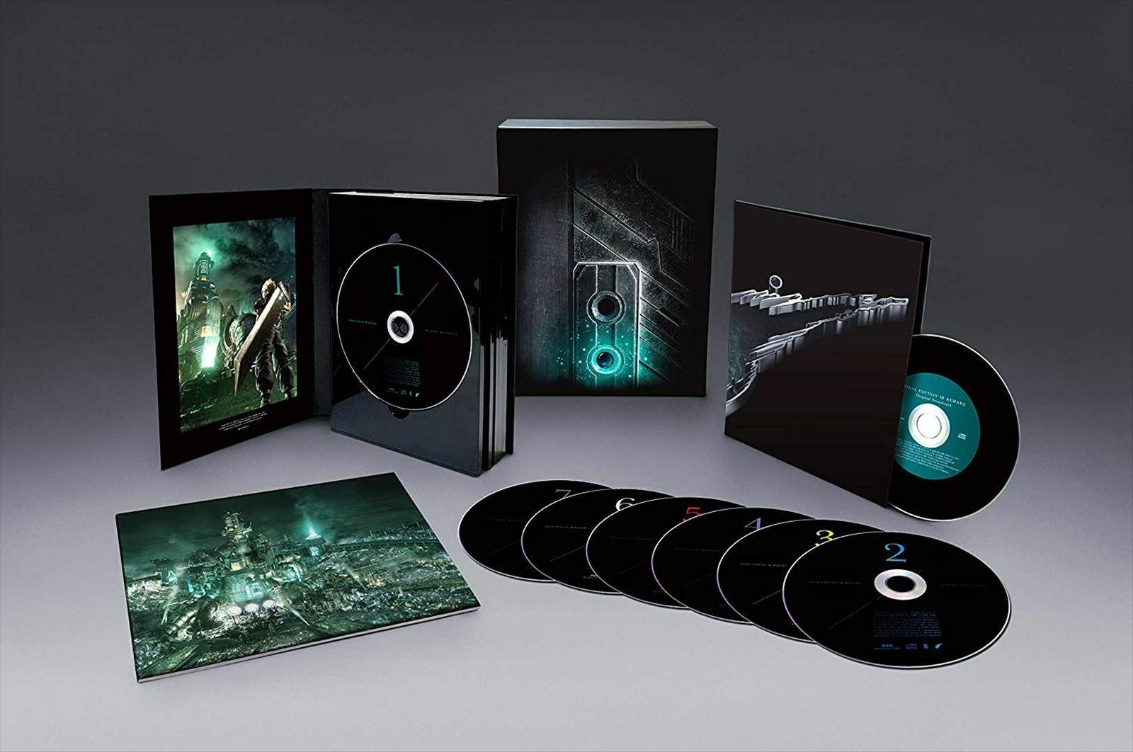 RARE FF7 FINAL FANTASY VII REMAKE Original Soundtrack CD Special edit version