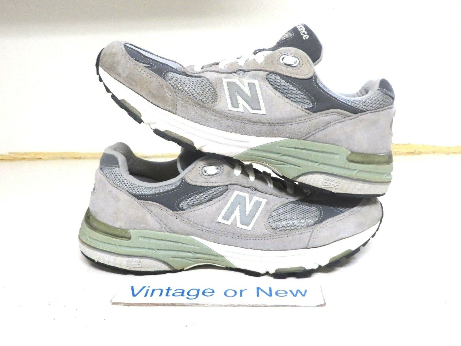 Women's New Balance 993 993 993 Grey Suede WR993GL Running shoes sz 10.5 (2A) 7a4629