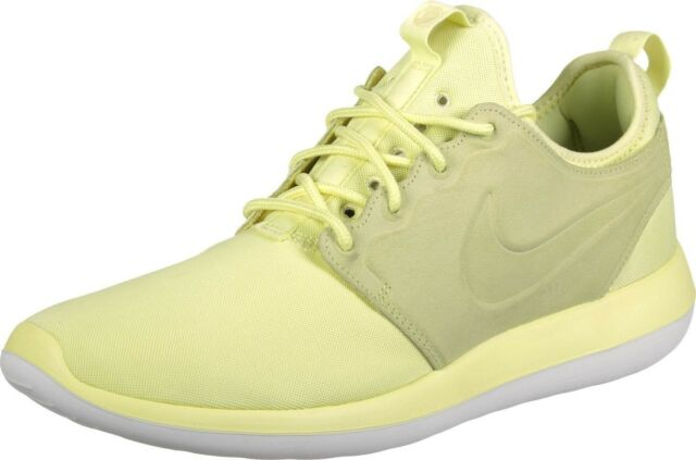 0d4818edfc24 Men Athletic Sneakers Nike Casual Running Shoes Roshe Two BR Yellow  898037700