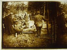 plaque photo guerre 14-18 route de calonne meuse général poeymirau blessé WWI