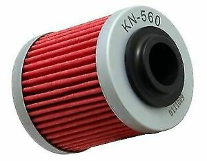 K/&N KN-560 Oil Filter For 08-12 Can-Am