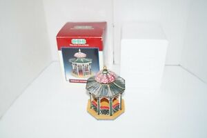 Lemax Porcelain Victorian Gazebo Village Collection Houses Accessories Holiday