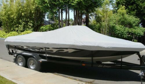 """Boat Cover for 17/'-19/' V-Hull Runabout Bow Rider Boats beam width up to 102/"""""""