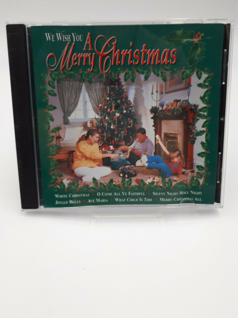 We Wish You A Merry Christmas CD Various Artists Compilation 1996 Free Post