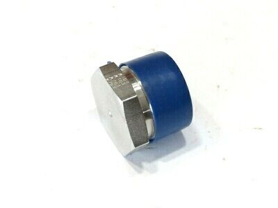 "1-1/4"" Parker Part#20 Ph-ss 316 Stainless Steel Hex Pipe Plug Solid New GarantíA 100% Ture"