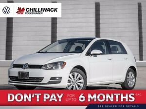 2016 Volkswagen Golf Comfortline | *NO ACCIDENTS* | APP CONNECT, LEATHER HEATED SEATS!
