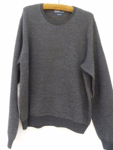 Lauren lunga Xl con Manica da Polo grigia 100 Ralph girocollo Wool Sweater uomo 5nwwqIT8B