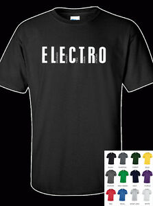 Electro Funk Hip Hop 100% Cotton Adult T-Shirt - All Sizes & Colours ...