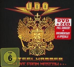 U-D-O-STEELHAMMER-LIVE-FROM-MOSCOW-Digipak-DVD-2CD-884860102070