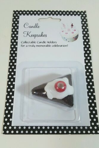 NEW NIP CANDLE KEEPSAKES HOLDER Topper CAKE BIRTHDAY NPR Chocolate