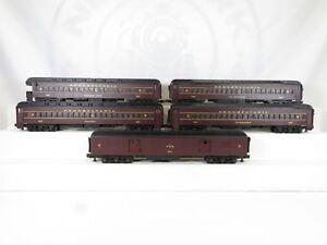 MTH-MT-4018-Pennsylvania-Scale-Madison-Car-Set-5-Pieces-LN