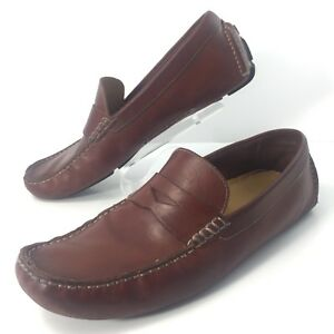 505bf8744f0 Cole Haan Howland Penny Loafers Mens Size 11.5M Saddle Tan Brown ...