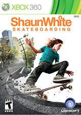 XBOX 360 Shaun White Skateboarding Video Game online multiplayer skatepark shred