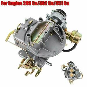 Two-2-Barrel-Carburetor-Carb-2100-A800-For-Ford-289-302-351-Cu-Jeep-Engine