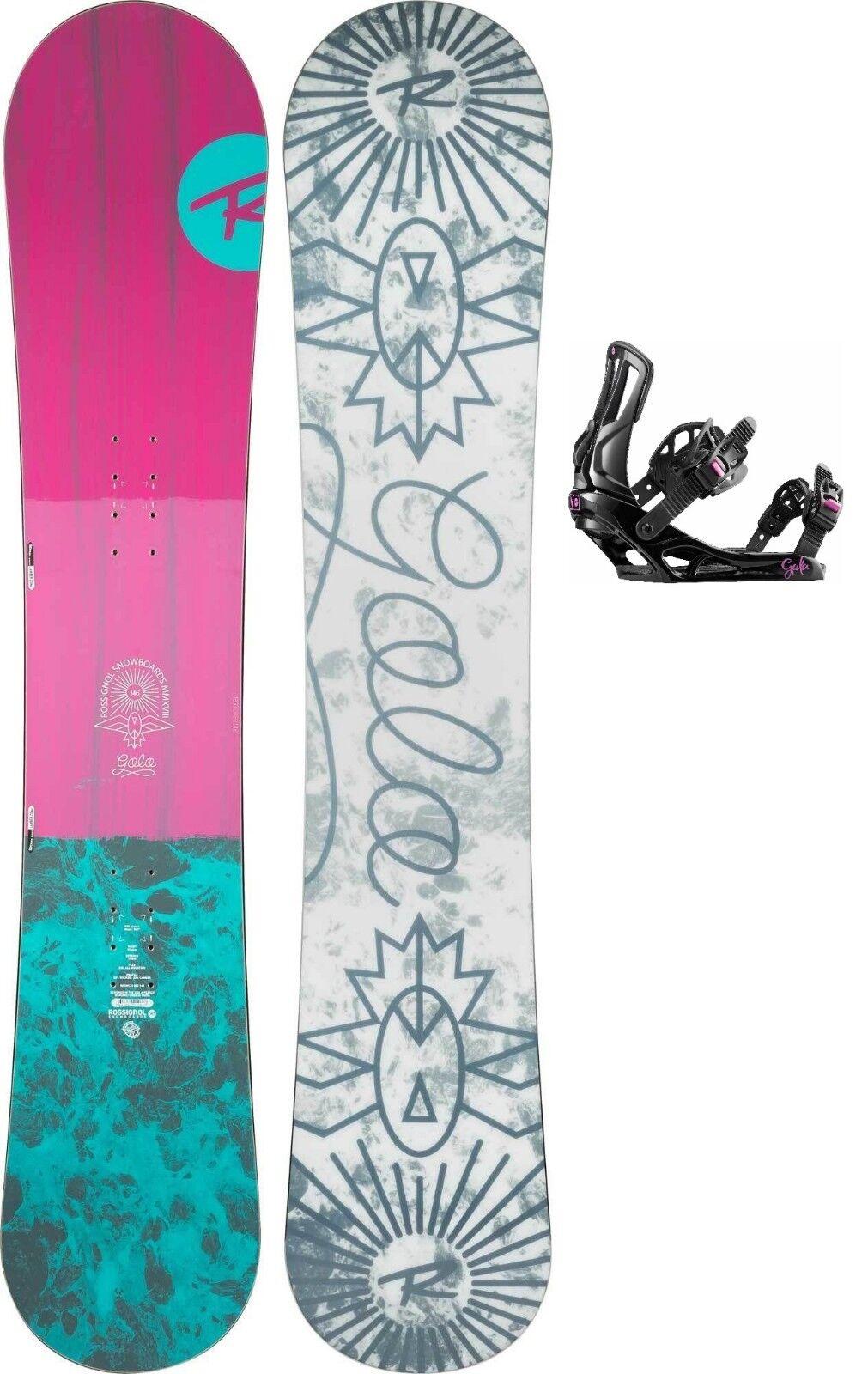 Tabla Snowboard Toda La Montaña Mujer ROSSIGNOL GALA + Gala S M 2019