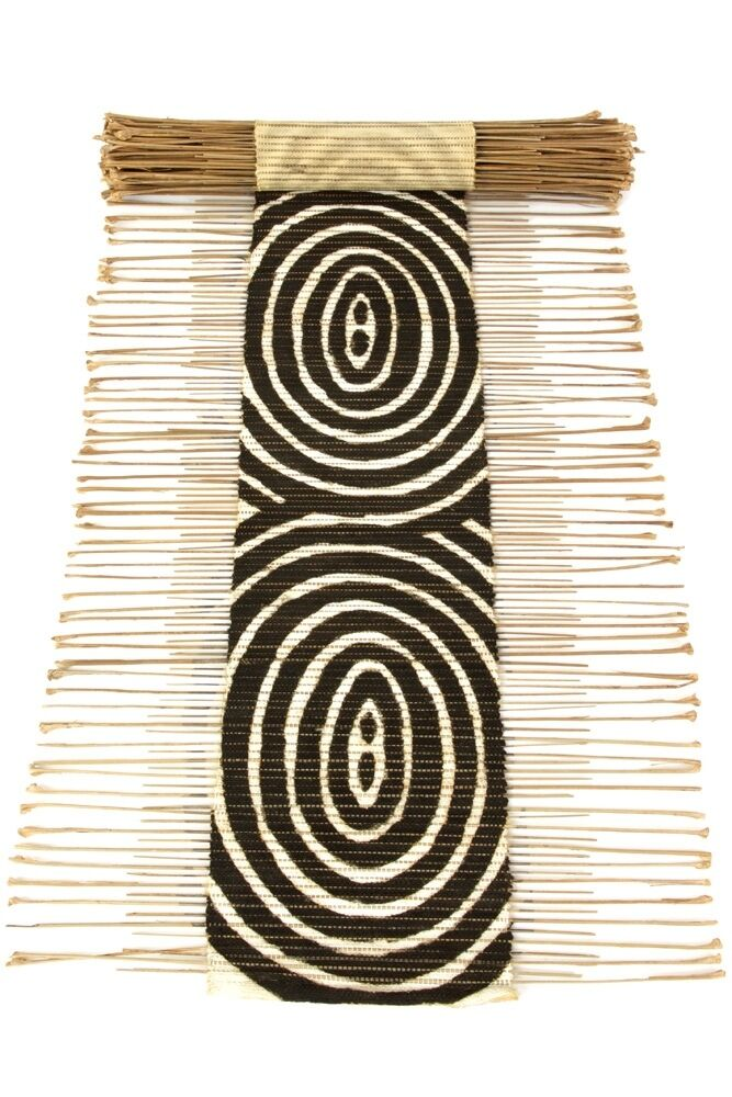 Ripple Effect Twig Table Runner - African - Swahili Modern - Mali - Fair Trade