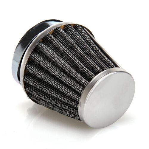 4Pcs 50mm Universal Tapered Chrome Air Filters Cleaner for Motorcycle Cafe Racer