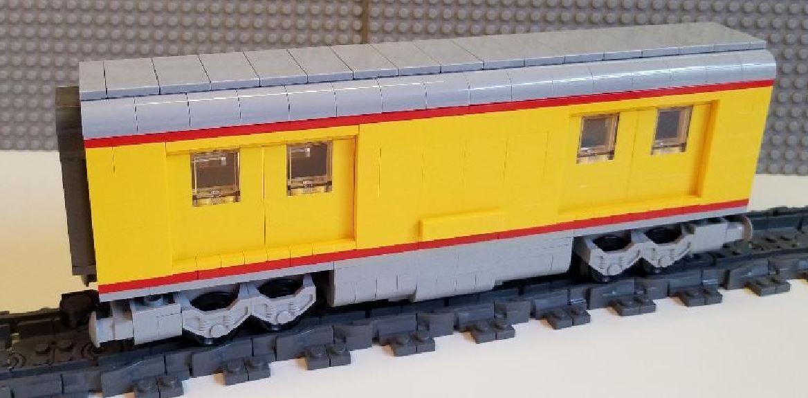 LEGO Train Union Pacific sacages voiture, veuillez lire la description  de l'objet --  confortable
