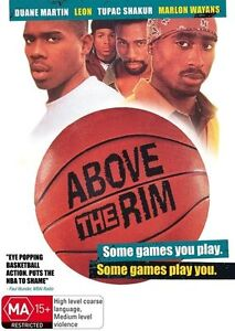 Above-the-Rim-DVD-Region-4-very-good-condition-t57