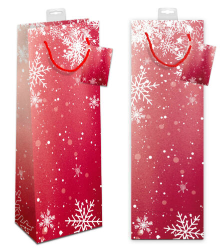 10 Geschenktaschen für Flaschen Weihnachten Flaschentüten Geschenktüten Wein