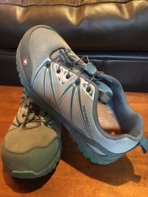 Steel Toe Tennis Shoes Gray 7.5   eBay