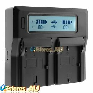 LCD-Dual-Battery-Charger-For-Sony-NP-FW50-A6000-A5000-NEX-5T-5R-6-7-RX10-A7-A7R