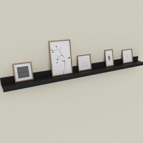 Floating Display Ledge Shelves Wall Mount Storage Bookshelf Home Decor 3 Types