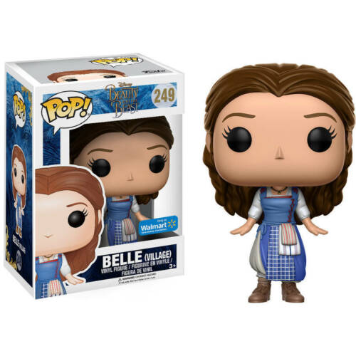 Belle Village Walmart Ex Beauty And The Beast POP! Disney #249 Vinyl Figur Funko