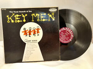 Larry-Sonn-LP-The-Key-Men-Coral-57112-Rare-Jazz-VG-VG
