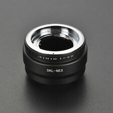 LEINOX DKL-NEX Voigtlander Retina Deckel Lens to Sony E-mount A7R A6300adapter