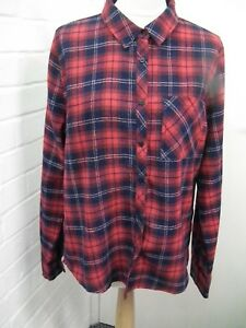 3d8951babe370a Image is loading BN-Red-And-Navy-tartan-Shirt-From-Primark-